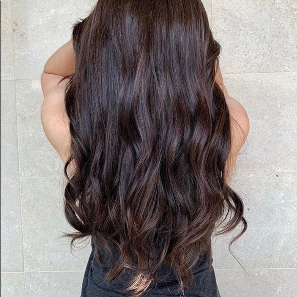 HotHeads Other - Gorgeous brunette tape in HOTHEAD extensions.